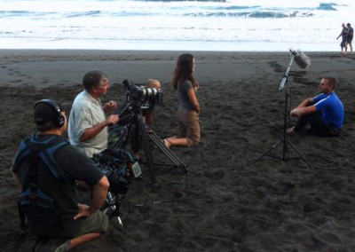 Blackfish shoot in the Canary Islands