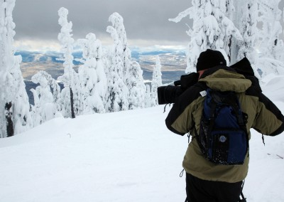 Shooting Snow Ghosts for Weekend Explorer