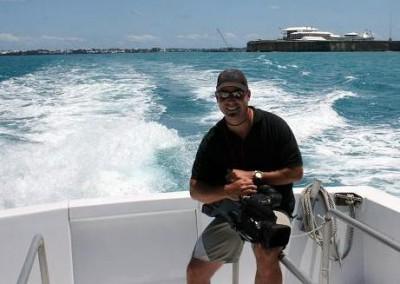 Shooting in Bermuda for IBM