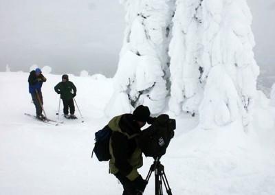 Winter interview for Weekend Explorer
